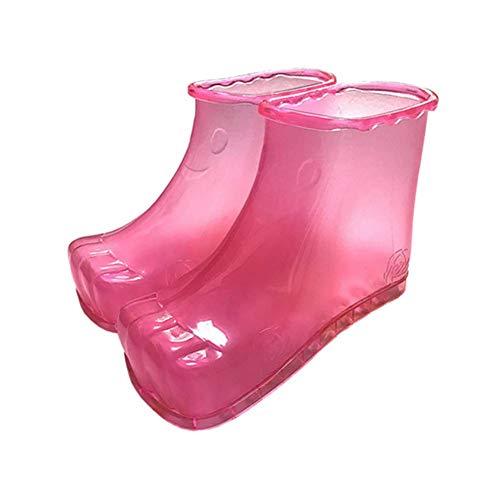 Zapatillas Pie Pink Zapatos Baño Pies Masajeador Cuidado Caliente Inicio Hw blue De Acupresión Relajación Botas Masaje AYHqq4w