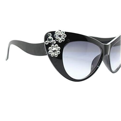 7de34d6729bd6 free shipping Aimeart Retro Vintage Women s Eyeglasses Cat Eye Glasses  Plastic Frame with Floral Decor NO