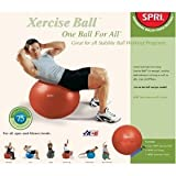 SPRI One Ball for All Package: Ball, Pump & Chart 75cm
