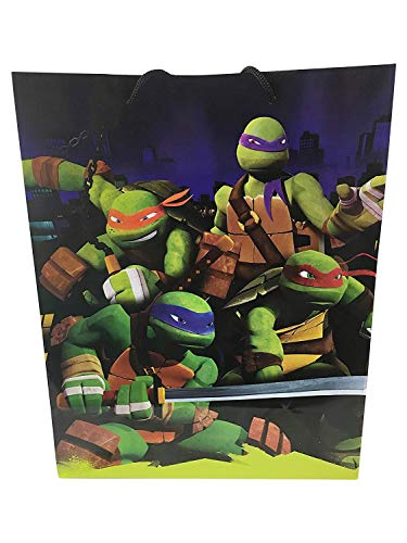 Unique Industries Officially Licensed Party Favor Gift Wrap Bags (TMNT Teenage Mutant Ninja -