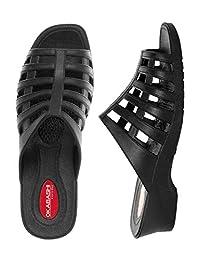 Okabashi Womens Sienna Sandal Shoes (Black)