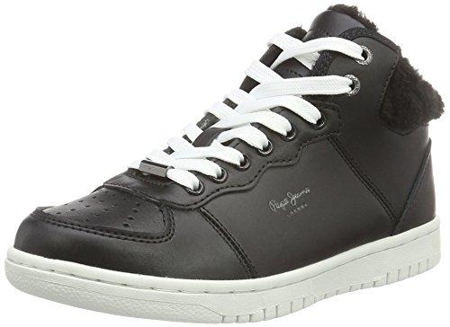 Lindsay Noir 999black Hi scarpe Pepe Jeans Di Donne OSqxUO