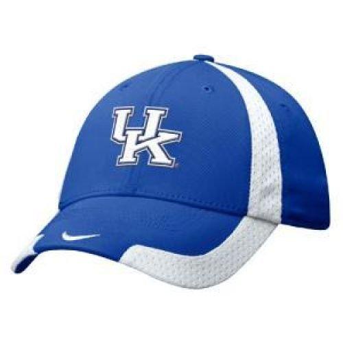 Nike Kentucky Wildcats Royal Blue Basketball Swoosh Flex Fit Hat