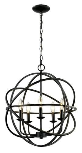 Good Bel Air Lighting Nucleus 5 Light Pendant Light Nice Look