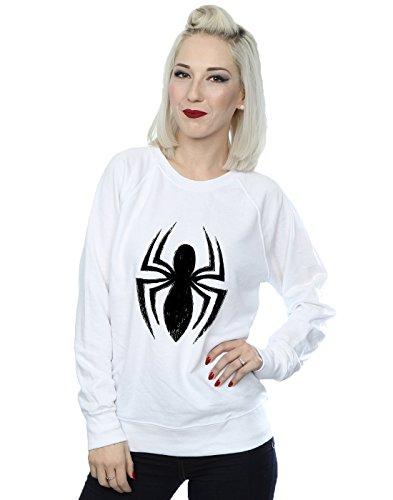 Marvel Entrenamiento man Logo De Blanco Spider Camisa Mujer Ultimate Spider r8wqHpr