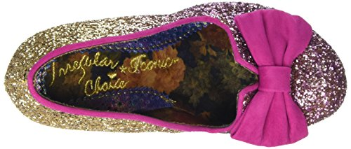 Irregular Choice Damen Nick of Time Pumps Pink (Pink/Gold)