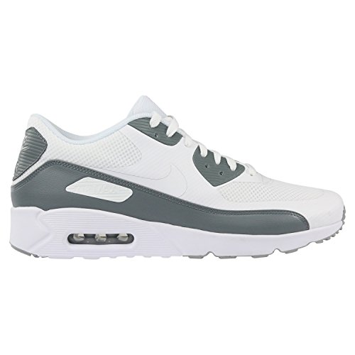 NIKE Air Max 90 Ultra 2.0 Essential Men's Shoes WhiteWhiteCool Grey 875695 102 (13 D(M) US)