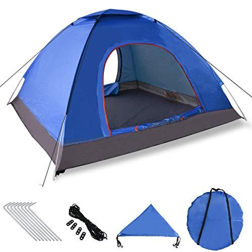 XDDIAS Pop up Zelt 200cm x 200cm x 150cm, Tragbares Strand-Zelt mit LSF50+ UV-Schutz für Outdoor Sport Camping Wandern…