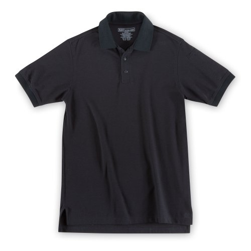5.11 Tactical Men's Utility Short Sleeve Polo, Poly-Cotton Fabric, Wrinkle Resistant, Style 41180T
