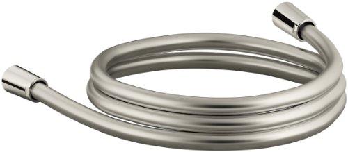 KOHLER K-98359-SN Awaken 60-Inch Smooth Shower Hose, Vibrant Polished Nickel (Sn Nickel Polished Replacement)