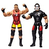 TNA Wrestling Cross the Line Series 4 Action Figure 2Pack RVD Sting