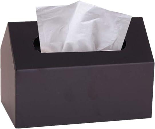 xiamenchangketongmaoyi Cajas para pañuelos de Papel Caja para pañuelos de Papel Soporte de Caja de pañuelos Soporte de Caja de pañuelos para el hogar Cajas de pañuelos Black: Amazon.es: Hogar
