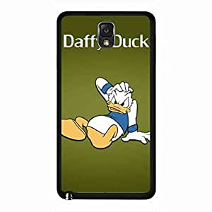Protective Classic Design Cartoon funda Daffy Duck funda 1937 Warner Bros Samsung Galaxy Note 3 Phone Skin