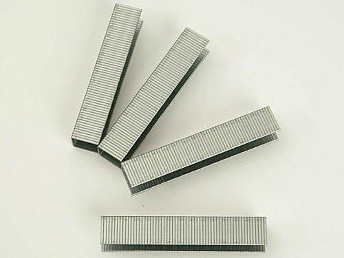 BLACK & DECKER X70506-QZ - 1440 Grapas de alambre plano de Long. 6mm, Ancho interior 9,5mm, Ancho exterior 10.6mm, Grosor 1.26mm. Para A5753 / X72011 / X72012 / X72013 / X72014. Uso intensivo.