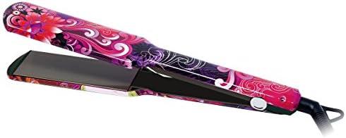 Plancha de Pelo Profesional Titanio XL Placas Extra Anchas