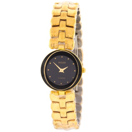 Rado Florence 322.3762.21 Black Lines Dial Stainless Steel Ladies Watch