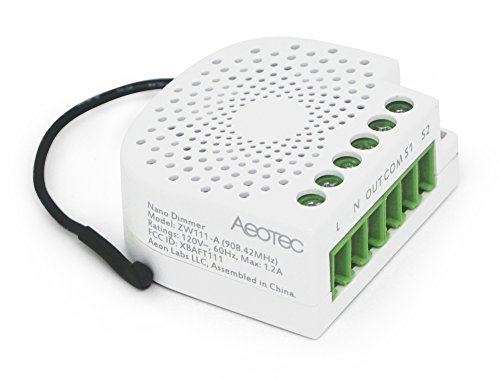 Aeotec Nano Dimmer Z Wave Plus Lighting Amp Fan Controller