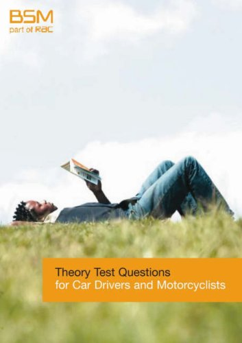 Theory Test Questions for Car Drivers and Motorcyclists
