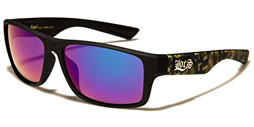 sol Camo SDK Purple Black SUNGLASSES Gafas para hombre de Lens blue qOP0tAPw