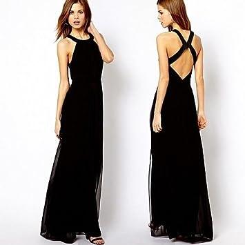 20d063292a8 Amazon.com   Leshery Sexy Women Holiday Summer Boho Long Maxi Dress Beach Evening  Party Dresses (M