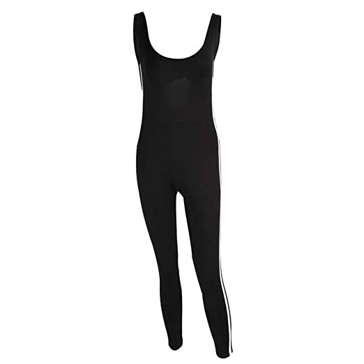 Ropa deportiva para mujer, Pantalones de una pieza de yoga ...