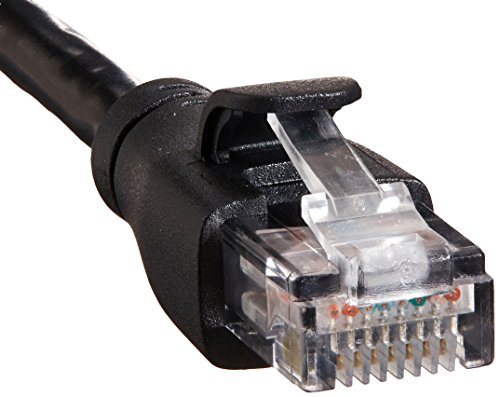 Amazon Basics RJ45 Cat-6 Ethernet Patch Internet Cable - 3 Feet (0.9 Meters) 2 An Amazon Brand