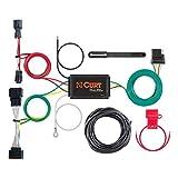 CURT 56321 Vehicle-Side Custom 4-Pin Trailer Wiring