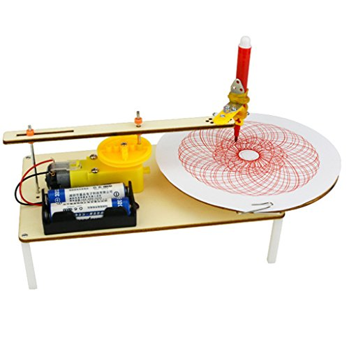 MagiDeal DIY Electric Plotter Drawing Robot, Kids Student Science Educational Toy (Student Plotter)