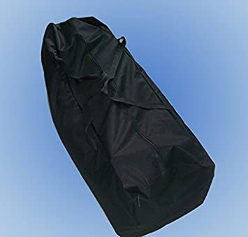 Peaktop Waterproof Durable Carry Bag for 10 x30 Outdoor Canopy Gazebo Party Tent Black