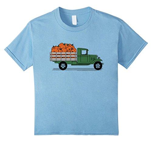 Kids Cute Pumpkin Truck T Shirt Gift - Halloween Pumpkin Truck 4 Baby (Homemade Baby Girl Halloween Costumes)