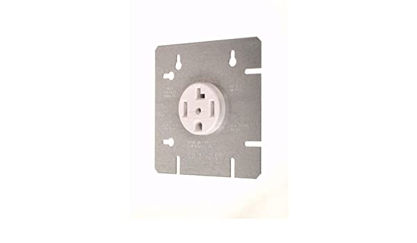 Vista 45125 - NEMA 14-30R - 30A DRYER OUTLET WITH 4 11/16 ... on