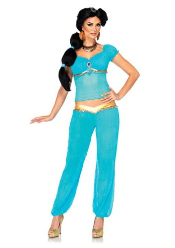 Leg Avenue Costumes Disney Jasmine Wig with Ribbon