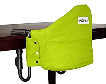 Merveilleux Guzzie+Guss Perch Hanging Highchair   Green
