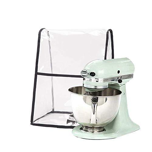 Transparent Kitchen Aid Mixer Covers, Large Size Stand Mixer Covers, Compatible 4.5-6 Quart Kitchen Aid Organizer Bag, Mixer Covers Fits All Tilt Head & Bowl Lift Models (17