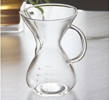 FOX PRIME 6-Cup Glass Handle Pour-Over