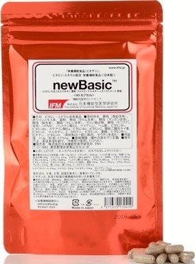 日本機能性医学研究所 newBasic レスベラトロール 含有 「 マルチビタミン & ミネラル 」 90カプセル ( 30日分 ) 3セット   B017LEV1QY