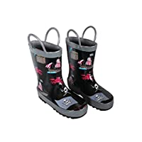 Foxfire FOX-600-94-13 Childrens Black Pirate Rain Boot - Size 13