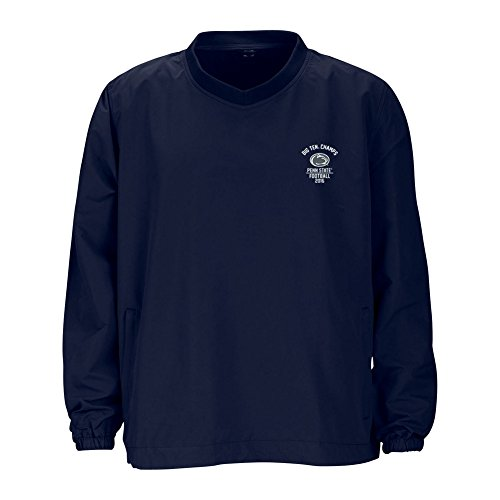 (Penn State Football Big Ten Champs Wind Shirt Navy 2016 - L)