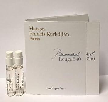 Amazoncom 2 Maison Francis Kurkdjian Baccarat Rouge 540 Edp Vial
