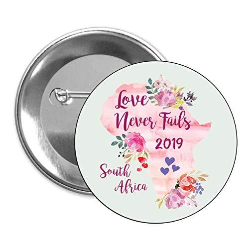 Amazon com: Love Never Fails Pins 50 pack Johannesburg South