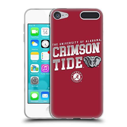Official University of Alabama UA Crimson Tide Soft Gel Case Compatible for Apple iPod Touch 6G 6th Gen Alabama Crimson Tide Ipod