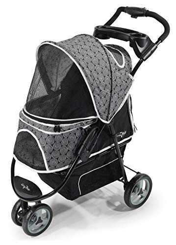 Promenade Pet Stroller by Gen7, Black Onyx