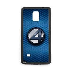 Alta resolución H6R04 Fantastic Four Poster B5V7IW funda Samsung Galaxy Note Funda caja del teléfono celular 4 cubren IF5XHL9NL negro
