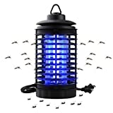 GONGting Powerful Electronic Bug Zapper, Indoor Bug Zapper with Hook, Hangable - for Home, Indoor, Outdoor, Bedroom, Kitchen[2019 Upgraded]