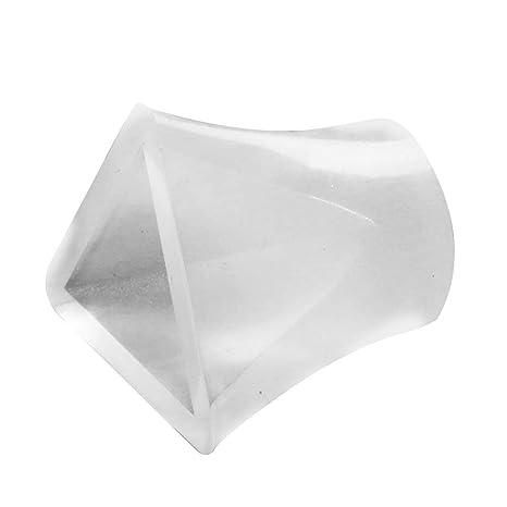 Vosarea Moldes de Resina de 20 mm Moldes de Silicona de Resina epoxi en Forma de