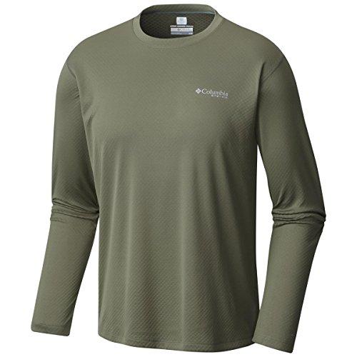 Columbia Men's PFG ZERO Rules¿ L/S Shirt Cypress Shirt by Columbia