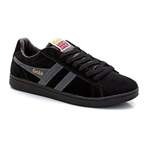 Nero Sneaker Equipe Suede Gola Uomo wEO7xIdqq