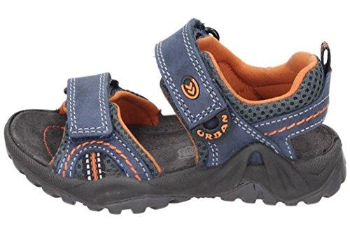 Imac Jungen Sandale blau/orange