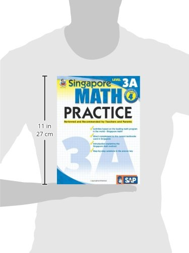 Amazon.com: Singapore Math Practice, Level 3A, Grade 4 ...