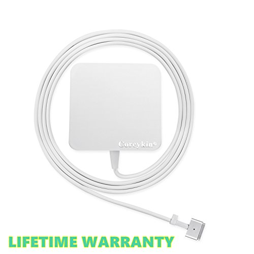 Why Should You Buy Coreykin Replacement Macbook Charger 60w Magsafe 2 T-Tip Power Adapter Charger fo...